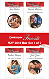 Harlequin Presents May 2016 - Box Set 1 of 2: Morelli's Mistress\The Sheikh's Last Mistress\The Most Scandalous Ravensdale\A Tycoon to Be Reckoned With