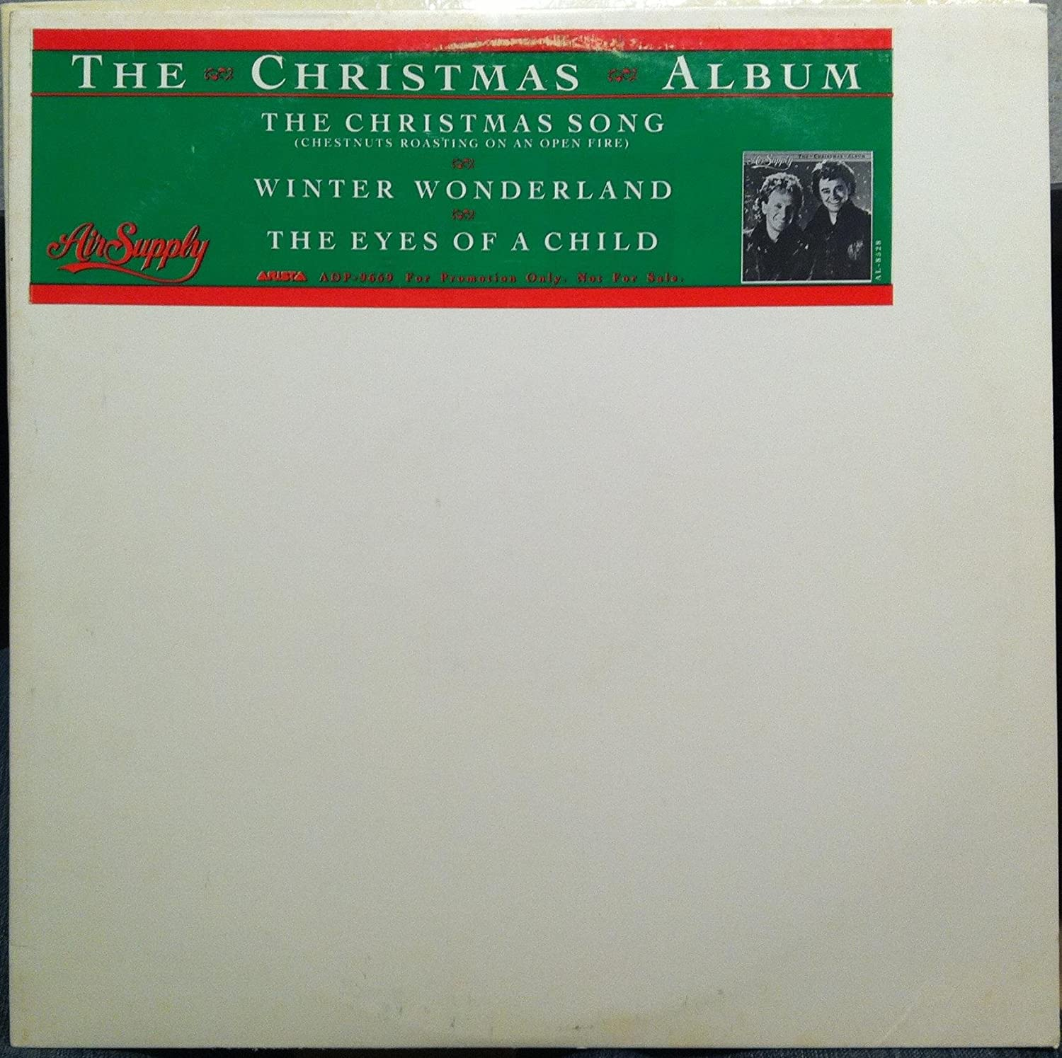 Air Supply - AIR SUPPLY The Christmas Album vinyl record - Amazon ...