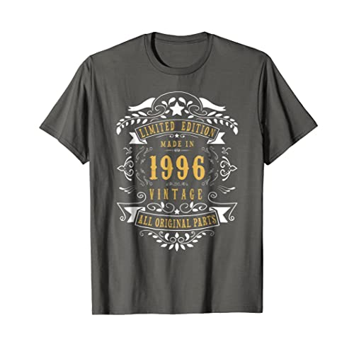 22 Years Old Made Birth 1996 22nd Birthday Bday Gift T Shirt