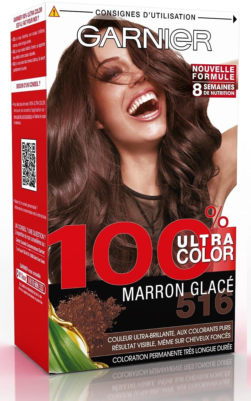 Couleur de cheveux marron glace garnier