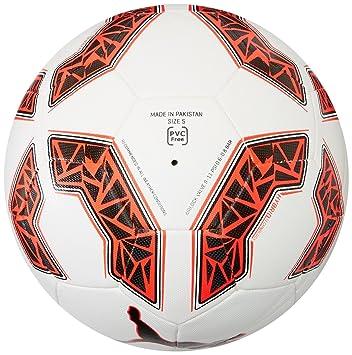 c4e747f42 Puma 082707 02 evoSpeed 2.5 Hybrid Fifa Quality Football White/Black/Red  Blast, 3: Amazon.co.uk: Sports & Outdoors