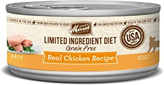 product image for Merrick Grain Free Limited Ingredient Diet Real Meat Canned Adult Wet Cat Food (Case of 24)