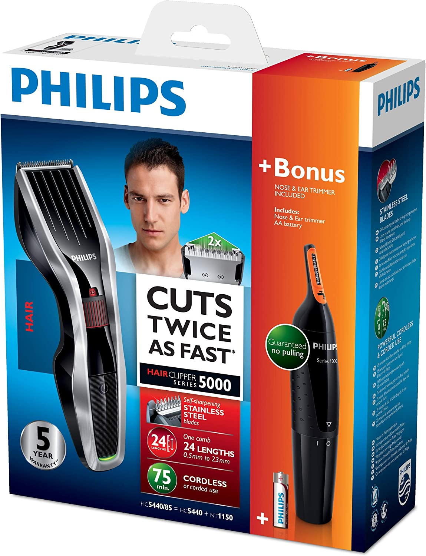 Philips HAIRCLIPPER Series 5000 HC5440/93 cortadora de pelo y ...