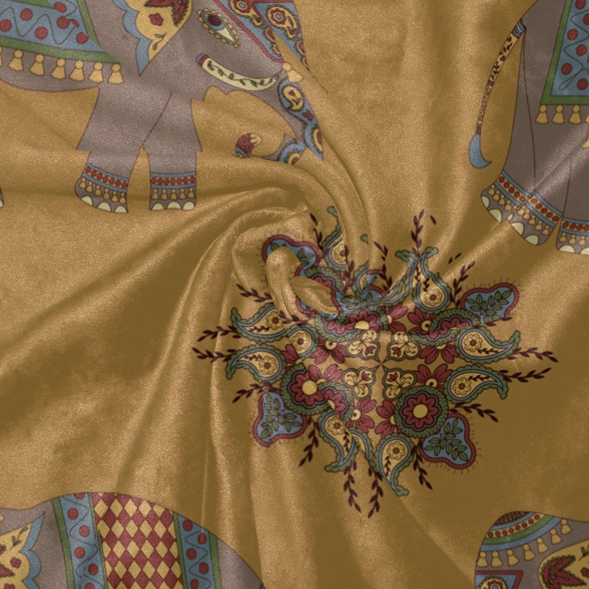 Vantaso Soft Blankets Throw India Mandala Elephants Microfiber Polyester Blankets for Bedroom Sofa Couch Living Room for Kids Children Girls Boys 60 x 90 inch by Vantaso (Image #4)
