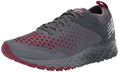 brand new 868db 0e5ab New Balance - Chaussures MTHIERV4 pour Hommes, 41.5 M EU, Lead Scarlet