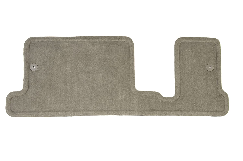 GM Accessories 20908554 Third-Row One-Piece Carpeted Floor Mat in Medium Titanium General Motors