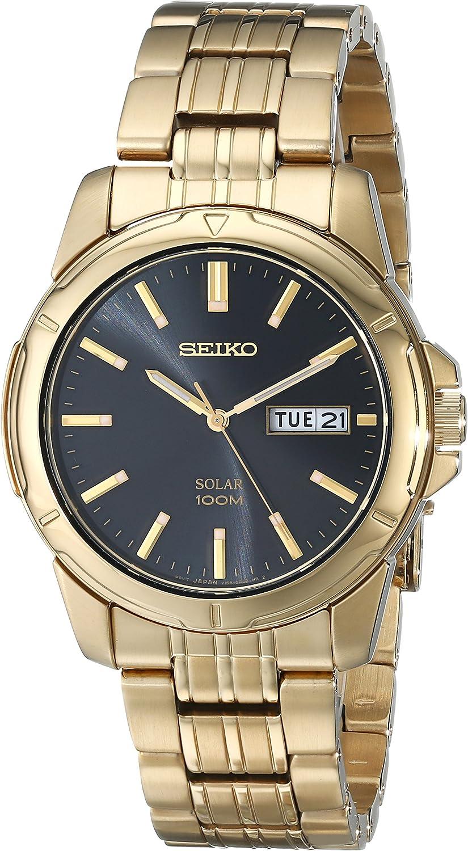 Seiko Men s SNE100 Solar Functional Watch