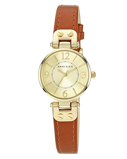 Anne Klein Women S Manhattan Quartz Watch With Beige Dial Analogue