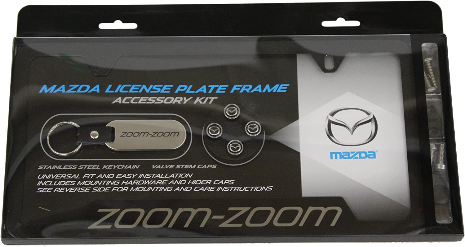 Mazda Tribute Mirrored Chrome Stainless Steel License Plate Frame