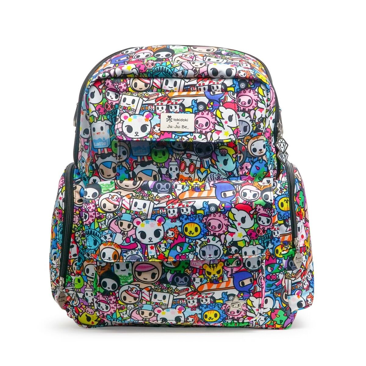Ju-Ju-Be Tokidoki Collection Be Nurtured Breast Pump Bag, Iconic 2.0
