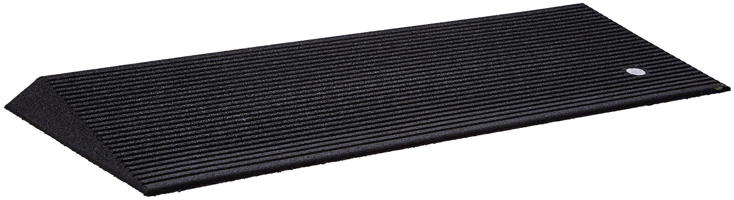 Ez-Access Rubber Threshold Ramp Beveled, 1.5 Inch, 14 Pound