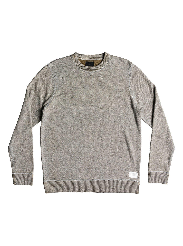 Quiksilver Men's Seto Sea Sweater, Light Grey Heather, M