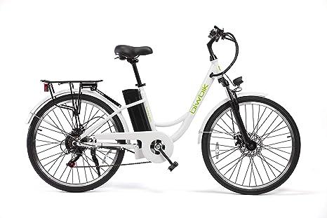 Bicicleta ELECTRICA Mod. Sunray 200 BATERIA Ion Litio 36V10AH Blanca: Amazon.es: Deportes y aire libre