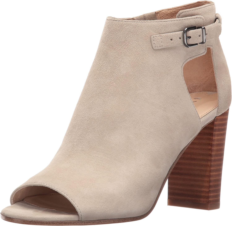 VIA SPIGA Womens Giuliana Block Heel City Sandal Heeled