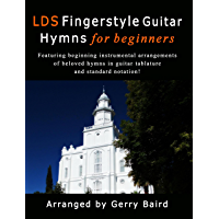 LDS Fingerstyle Guitar Hymns for Beginners book cover