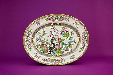 Grande Mintons piatto da portata dipinta in ceramica decorazione ...