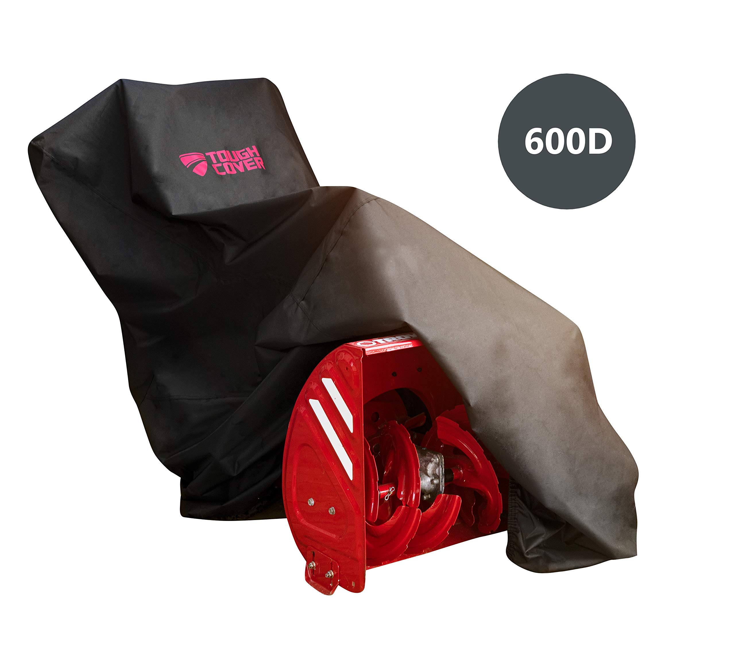 ToughCover Premium Snow Thrower Cover. Heavy Duty 600D Marine Grade Fabric. Universal Fit. Weather, UV & Mold Protection. by Tough Cover