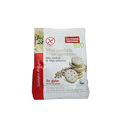 mini cracker de trigo sarraceno sin gluten - Germinal - 100g