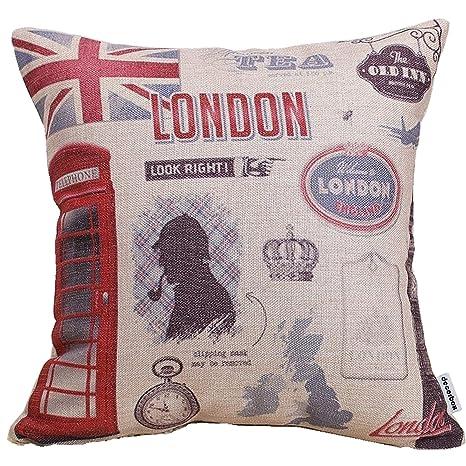 Amazon.com: Decorbox Decorative 18 x 18 Inch Linen Cloth ...