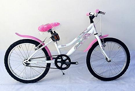 Bicicleta Faema Mountain Bike 20 Niña Blanca (con guardabarros ...