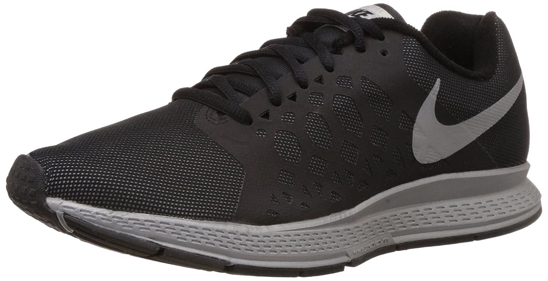 separation shoes 91b99 c8125 Amazon.com   Nike Mens Zoom Pegasus 31 Flash Black Reflect Silver Running  Shoe 8 Men US   Road Running