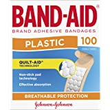 Band-Aid Brand Plastic Strips 100