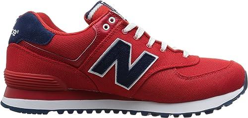 New Balance 574 Pique Polo Pack, Zapatillas para Mujer, Rojo (Red ...