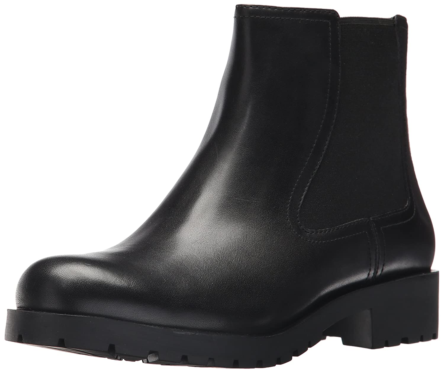 Black Cole Haan Womens Stanton Waterproof Bootie Ankle Boot