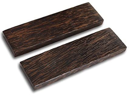 Amazon.com: 5 inch Negro asas de Palm madera Escalas Juego ...
