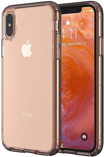 04265bdba524df Amazon.com: Altigo iPhone Xs Case - Clear Case with Pink Crystal ...