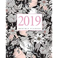 2019 Monthly Planner: 12 Month Calendar Planner Notebook January to December 2019 And Agenda Schedule