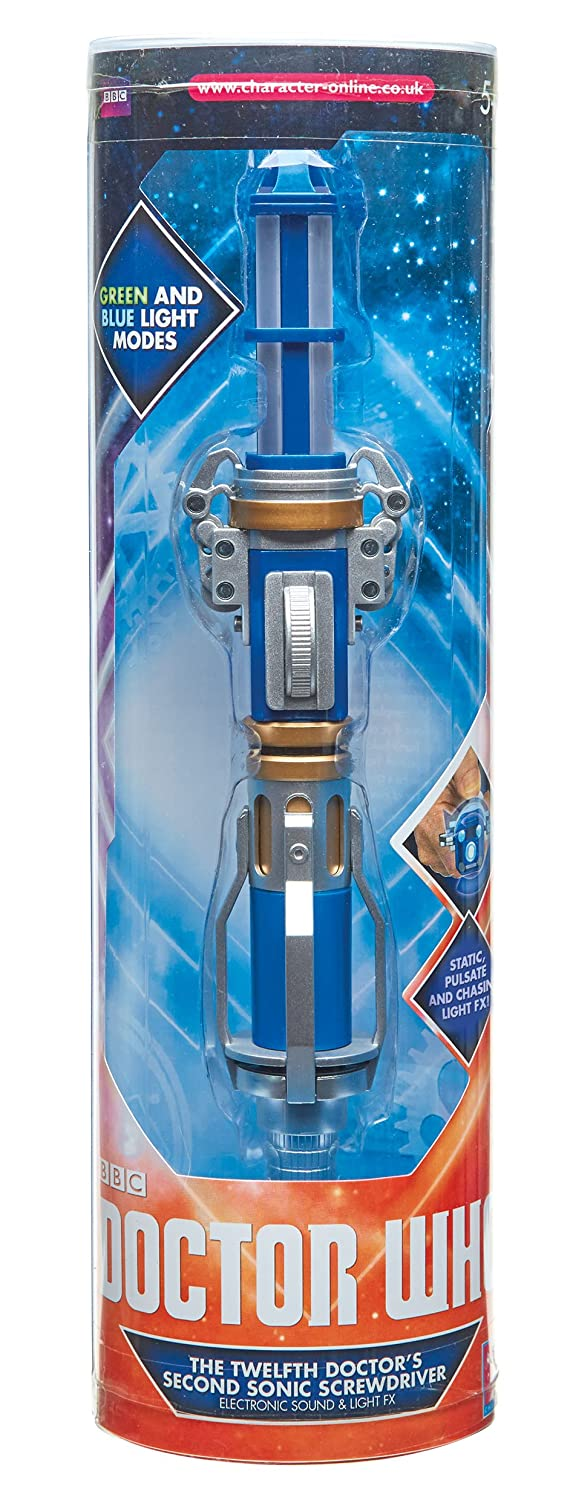 DOCTOR WHO 12TH DOCTOR SECOND SONIC SCREWDRIVER  ELECTRONIC LIGHT /& SOUND