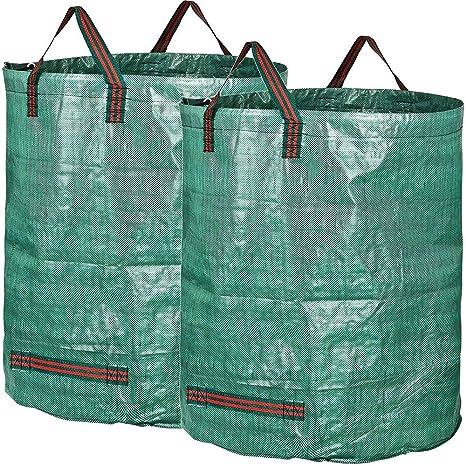 ZSLLO - Bolsas de Basura para jardín (2 Unidades, tamaño ...