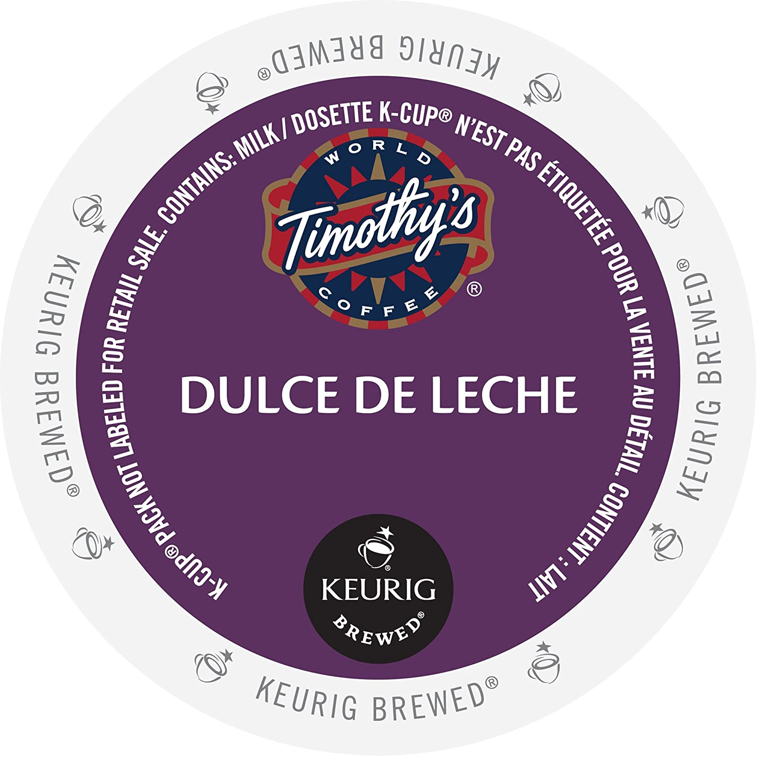 Timothy's Colombian La Vereda Single Serve Keurig Certified K-Cup pods for Keurig brewers, 24 Count ALP574