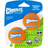 "Chuckit! 07101 Tennis Ball, Small 2"", 2 Pack, Orange/Blue"