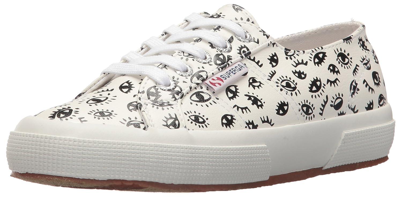 Superga Women's 2750 Puprintw Sneaker B0777SZSFY 39 M EU (8 US) White/Multi