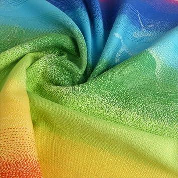 Amazon Com Didymos Woven Wrap Baby Carrier Unicorn Rainbow