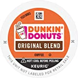 Dunkin' Original Blend Medium Roast Coffee, 60 K Cups for Keurig Coffee Makers