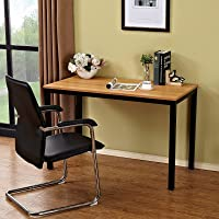 Need Computer Desk- 100cm Length Computer Table for Small Space Writing Desk Gaming Desk Home Office Desk