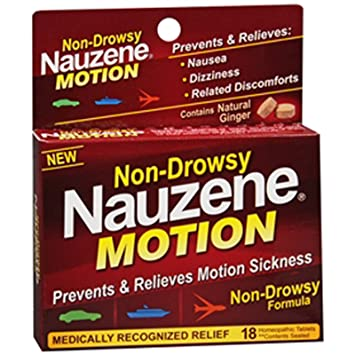 Non sedating medication for motion sickness