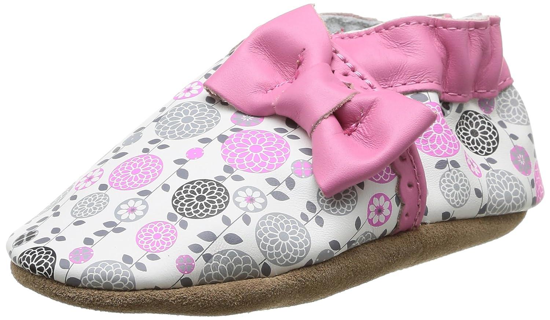 Robeez Averie, Chaussons bébé fille Chaussures Bébé Marche Fille Multicolore (33 Blanc Imprimé) 23-24 EU 398141-10