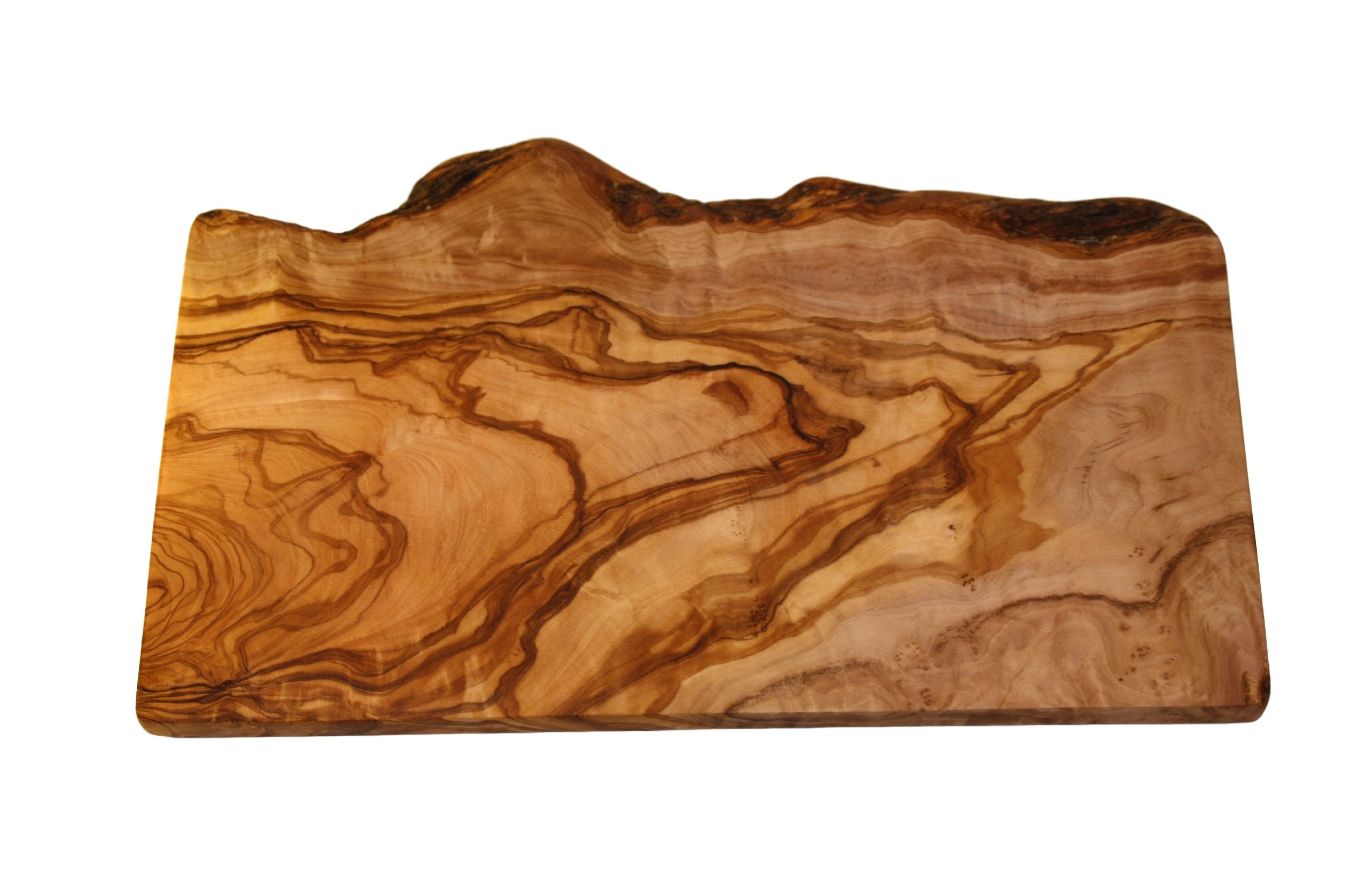Cucina Priolo - Unique Natural Handcrafted Olive Wood Rustic Cutting Board by Cucina Priolo
