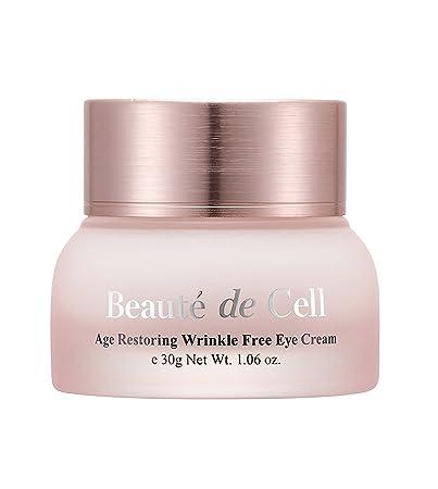 5672bb2cb2da56 Amazon.com: DraCell Beauté de Cell Age Restoring Wrinkle-Free Eye Cream:  Beauty