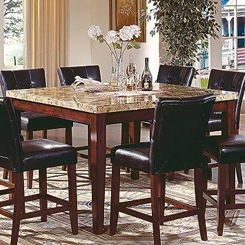 Amazon.com - Steve Silver Montibello Counter Height Table w ...