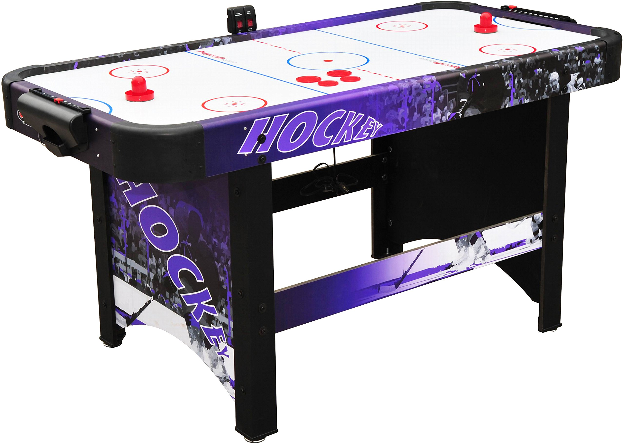Playcraft Sport Shoot Out Plus Air Hockey Table - Purple