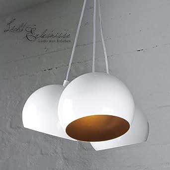 Lámpara de techo retro/3 x GU10 hasta 60 W 230 V/metal/techo ...