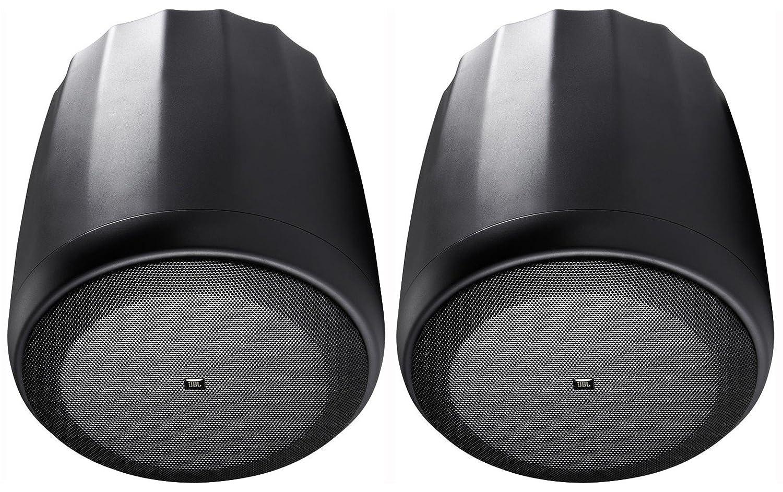 pair Compact Full Range Pendant Speaker BLACK JBL C65P//T