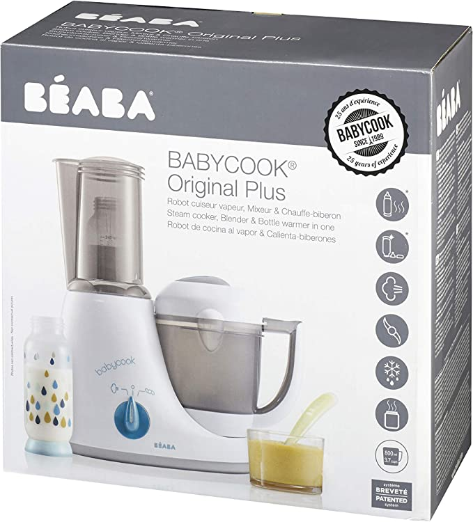 Béaba Babycook Original Plus - Robot 6 en 1, color blanco: Amazon.es: Bebé