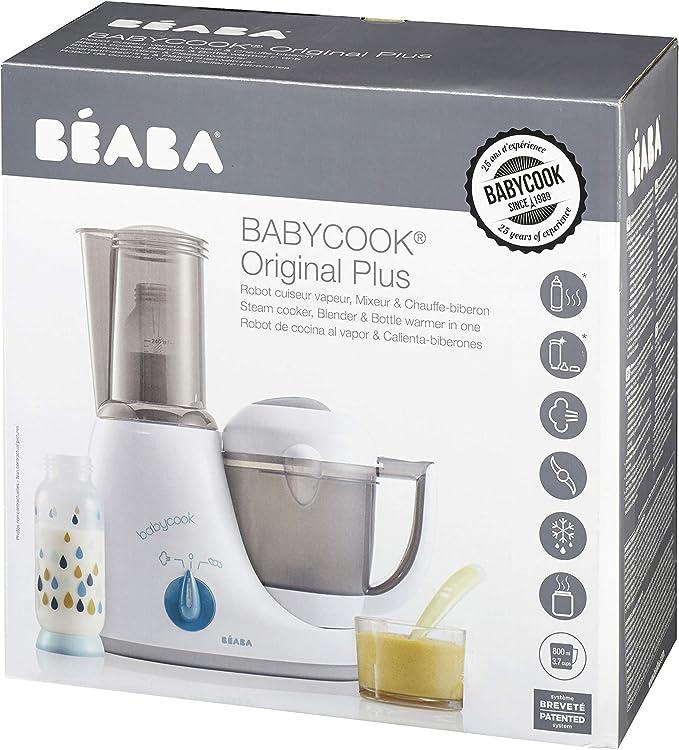 Béaba Babycook Original Plus - Robot 6 en 1, color blanco: Amazon ...