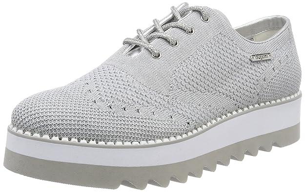 411411036959, Sneakers Basses Femme, Gris (Grey/Silver), 41 EUBugatti